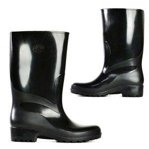 Ladies Youth Boots Bata Weatherguard Black Mid calf Gumboots